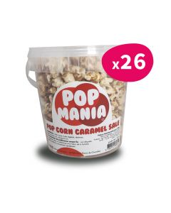 Pop corn Caramel Salé - pot 60g (x26)