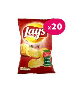 Chips Salé - 145g (x20)
