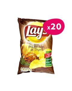 Chips Poulet Rôti - 145g (x20)