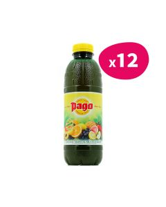 Pago Cocktail Tropical Multivitaminé - 33cl (x12)