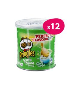 Pringles Sour Cream & Onion - 40g (x12)