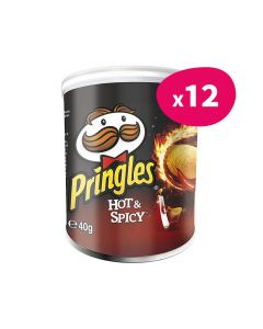Pringles Hot & Spicy - 40g (x12)