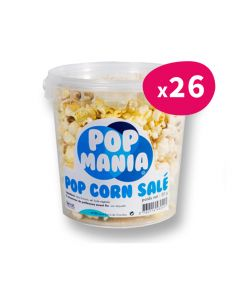 Pop corn Salé Pop Mania - pot 30g (x26)