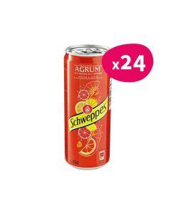 Schweppes Agrum' - 33cl (x24)