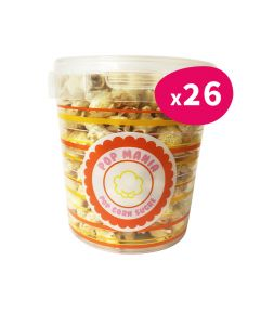 Pop corn Sucré  - pot 60g (x26)